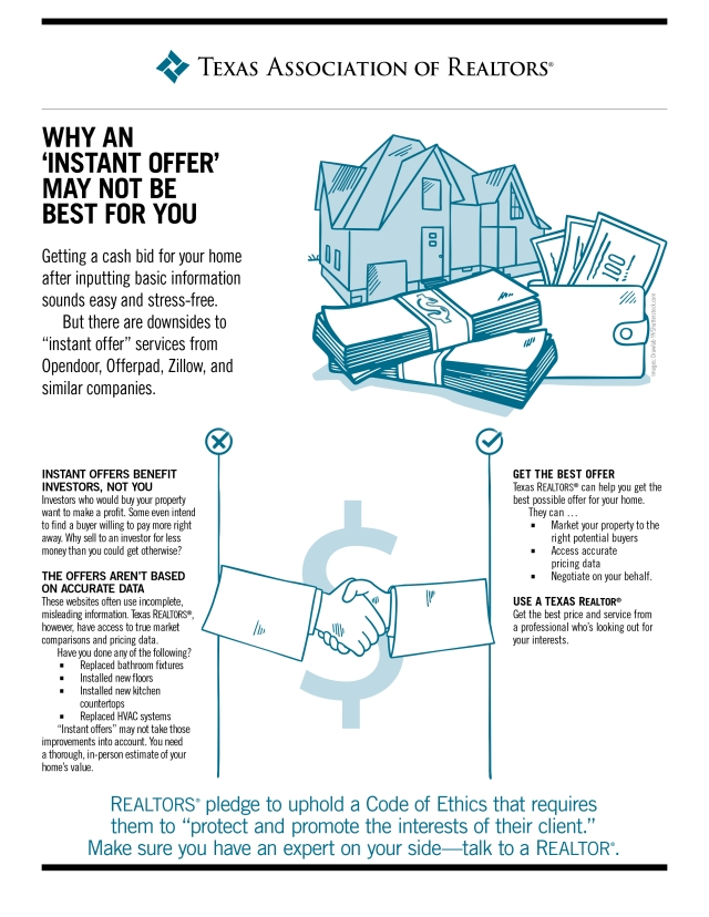 Share This: Why instant offers may not be best for you